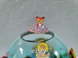 Disney Musical Alice In Wonderland Snow Globe All in the Golden Afternoon