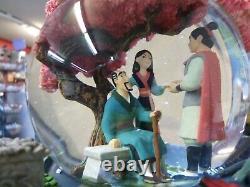 Disney Musical Animated Mulan Snow Globe 8