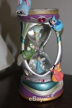 Disney Musical Hourglass Snowglobe When you Wish upon a Star Tinkerbell