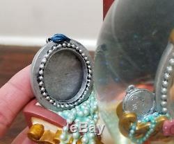 Disney Park TINKER BELL Jewelry Box Pixie Dust Musical Snowglobe Figurine Figure