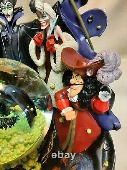 Disney Parks The Art of Disney Disney Villains Light Up Musical Snow Globe