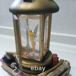 Disney Peter Pan Tinkerbell Snow Globe Lantern Musical Snow Globe 21×15×27cm