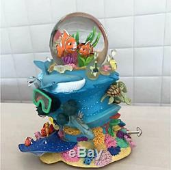 Disney Pixar Finding Nemo Marlin & Nemo Musical Show Globe Coral Music H10 W9