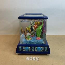 Disney Pixar Finding Nemo Tiny Bubbles Aquarium Fish Tank Musical Snow Globe