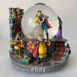 Disney Pixar Sleeping Beauty Musical Snow Globe Snowdome Used