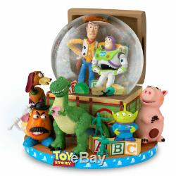 Disney Pixar Toy Story Musical Glitter Globe by The Bradford Exchange