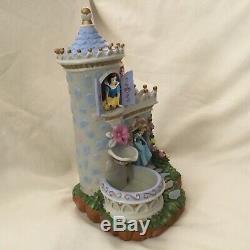 Disney Princess AURORA SNOW WHITE CINDERELLA Figurines Musical Water Fountain