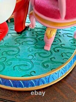 Disney Princess Cinderella Prince Charming Gus Jaq Musical Snow Globe