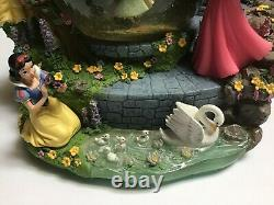 Disney Princess Enchanted Garden Musical Snow Globe Belle Snow White Cinderella