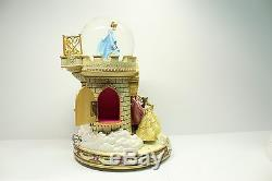 Disney Princess Happiest Celebration On Earth Staircase Musical Snow Globe