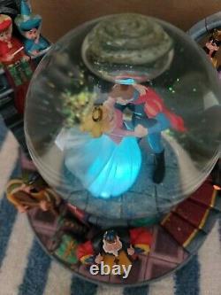 Disney Princess SLEEPING BEAUTY Once Upon A Dream Musical Snow Globe