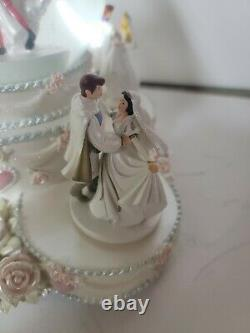 Disney Princess Wedding Cake Musical Snowglobe So This is Love