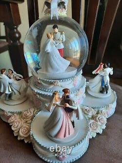 Disney Princess Wedding Large Musical Snow Globe