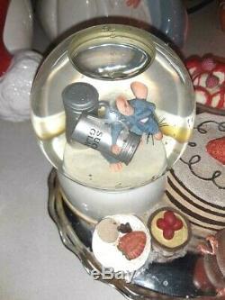 Disney Ratatouille Snowglobe Music Plays Broken Battery Box Local Pick Up Only