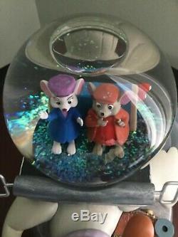 Disney Rescuers Musical Snow globe