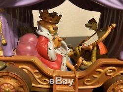 Disney Robin Hood Little John The Phony King Of England Musical SnowGlobe RARE