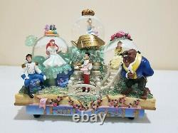 Disney Share A Dream Come True Snowglobe Parade Lighted & Musical Snowglobe