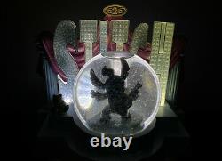 Disney Snow globe Stitch Light Up & Music Elvis 626 Snowglobe figurine Rare
