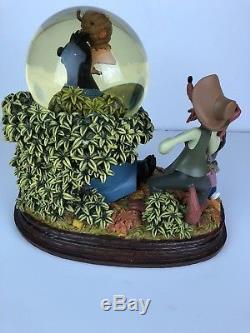 Disney Song of South Brer Bear Musical Snowglobe Snow Globe Splash Mountain 60Th