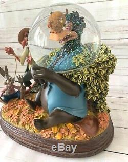 Disney Song of the South Musical Snow Globe Brer Bear Limited Edition RARE