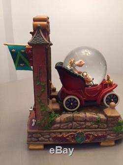Disney Statue Mr. Toad's Wild Ride snow globe that plays music