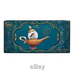 Disney Store Art of Jasmine Snowglobe D23 Exclusive Aladdin Musical Genie NIB