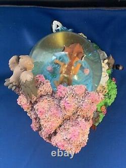 Disney Store Bambi and Friends Snowglobe Musical Snow-Globe