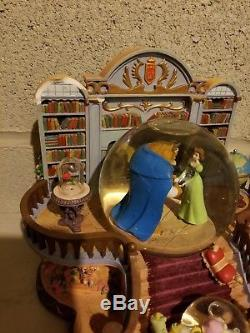 Disney Store Beauty and the Beast Musical Snowglobe