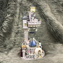 Disney Store Disney Cinderella Hourglass Musical Light Up Snowglobe With Box