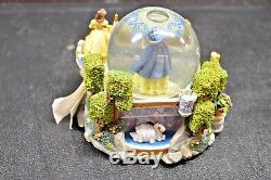 Disney Store Exclusive 5 Princess Musical Snow Globe Once Upon A Dream
