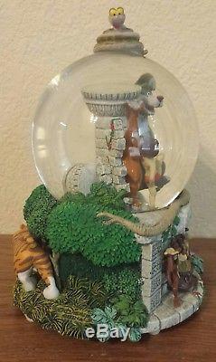 Disney Store Exclusive Jungle Book Music Snowglobe Snow Globe The Bare Necessity