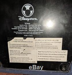 Disney Store Exclusive Peter Pan Darcy House Snow Globe LIGHT UP MUSIC BOX RARE
