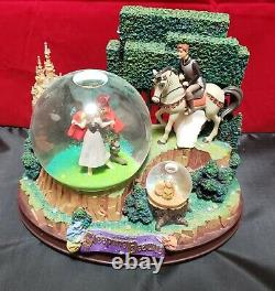 Disney Store Exclusive Sleeping Beauty Once Upon a Dream Musical Snowglobe