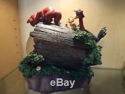 Disney Store Fox & and the Hound Musical Snow Globe ULTRA RARE