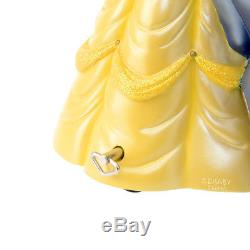 Disney Store Japan Beauty and the Beast Bell Snow Dome Globe Figure Music Box FS
