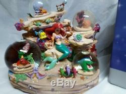 Disney Store Little Mermaid Under the Sea Musical Snowglobe