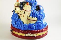 Disney Store MULAN 10th Tenth Anniversary Musical Box / Snow Globe / RARE