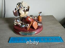 Disney Store Mickey Mouse Mickey's Nightmare Large Musical Snow Globe