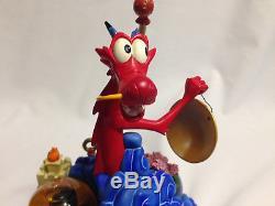 Disney Store Mulan 10th Tenth Anniversary Musical Box Snow Globe Very Rare