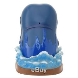 Disney Store Pinocchio Whale Snow Globe Dome Music box 25th Limited Edition New