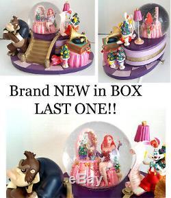 Disney Store Rogger Rabbit Jessica Snowglobe NEW in BOX RARE Large Music MINT