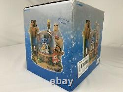 Disney Store Snowglobe Lilo and Stitch Elvis Musical Aloha Oe The King #95523