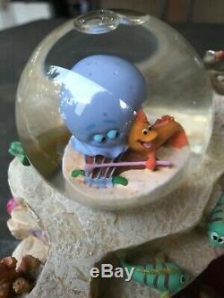 Disney Store The Little Mermaid Snow Globe Musical Under The Sea Music Box