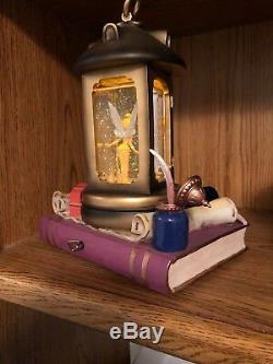 Disney Store Tinkerbell in Lantern Musical Snow Globe 95442 Peter Pan Tink