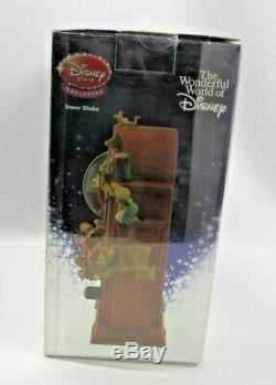 Disney Store Vintage Radio Jiminy Cricket Music & Lights Snowglobe Brand NEW
