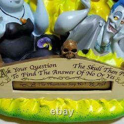Disney Store character Villans Snowglobe Snowdome Music Box Haunted mansion