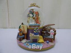 Disney The Aristocats Everybody Wants To Be A Cat Collectible Musical Snow Globe
