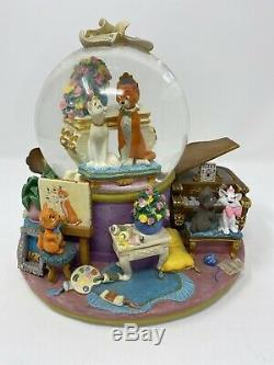 Disney The Aristocats RARE Musical Snowglobe Globe Everybody Wants to be a Cat