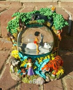 Disney The Jungle Book II Musical Snow Globe The Bear Necessities Mowgli Baloo