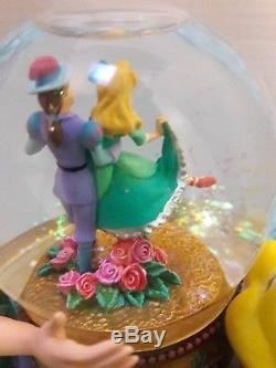 Disney The Little Mermaid Ariel The Theater Musical Snow Globe-RARE & MINT